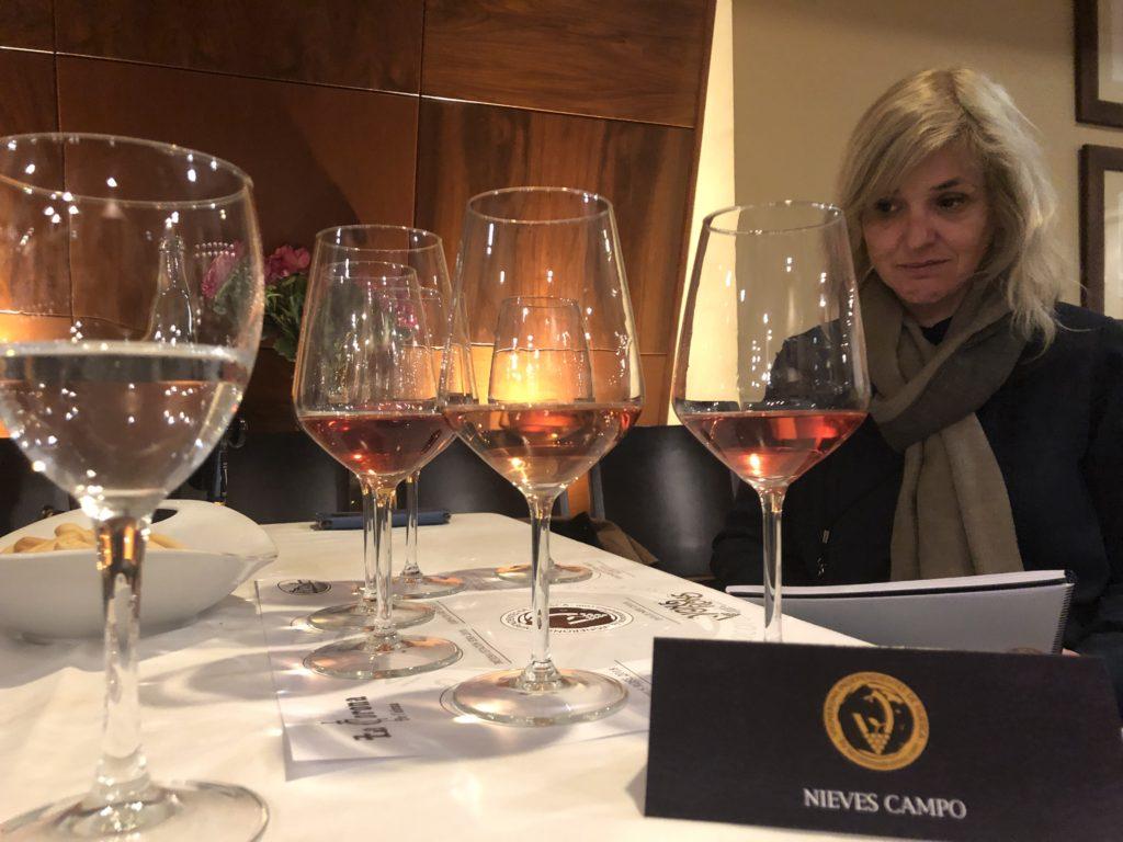 Segunda sesión con vinos Rosados y Espumosos