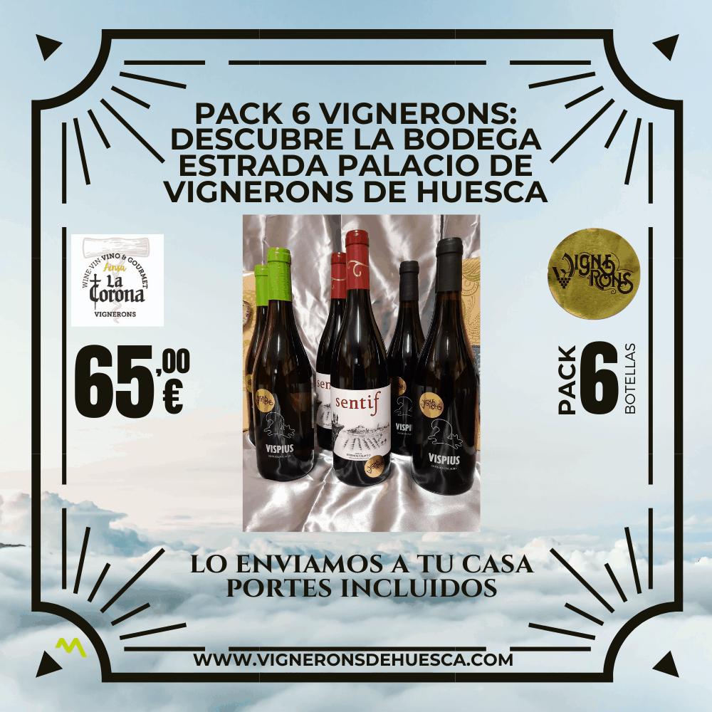 Pack Experiencia Vignerons (6 Botellas)