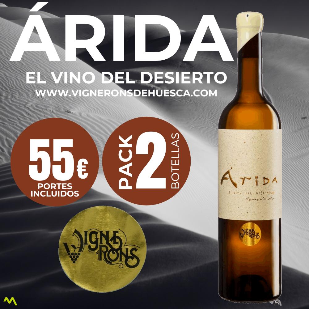 Pack de Arida el vino del desierto