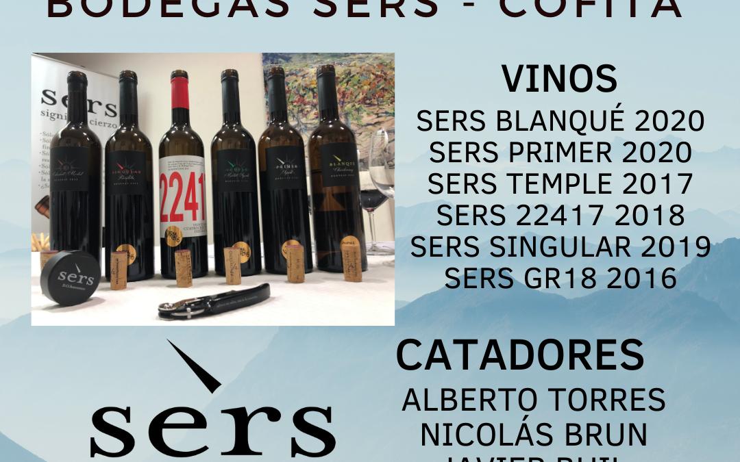 Vignerons de Huesca 2021 – Panel de cata en Bodegas Sers – Cofita