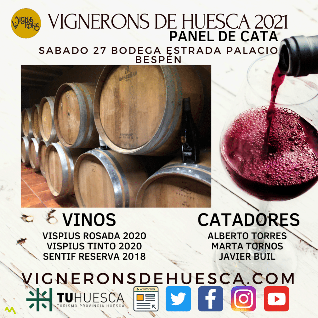 Vignerons de Huesca - Panel de Cata - Bodega Familia Estrada Palacio