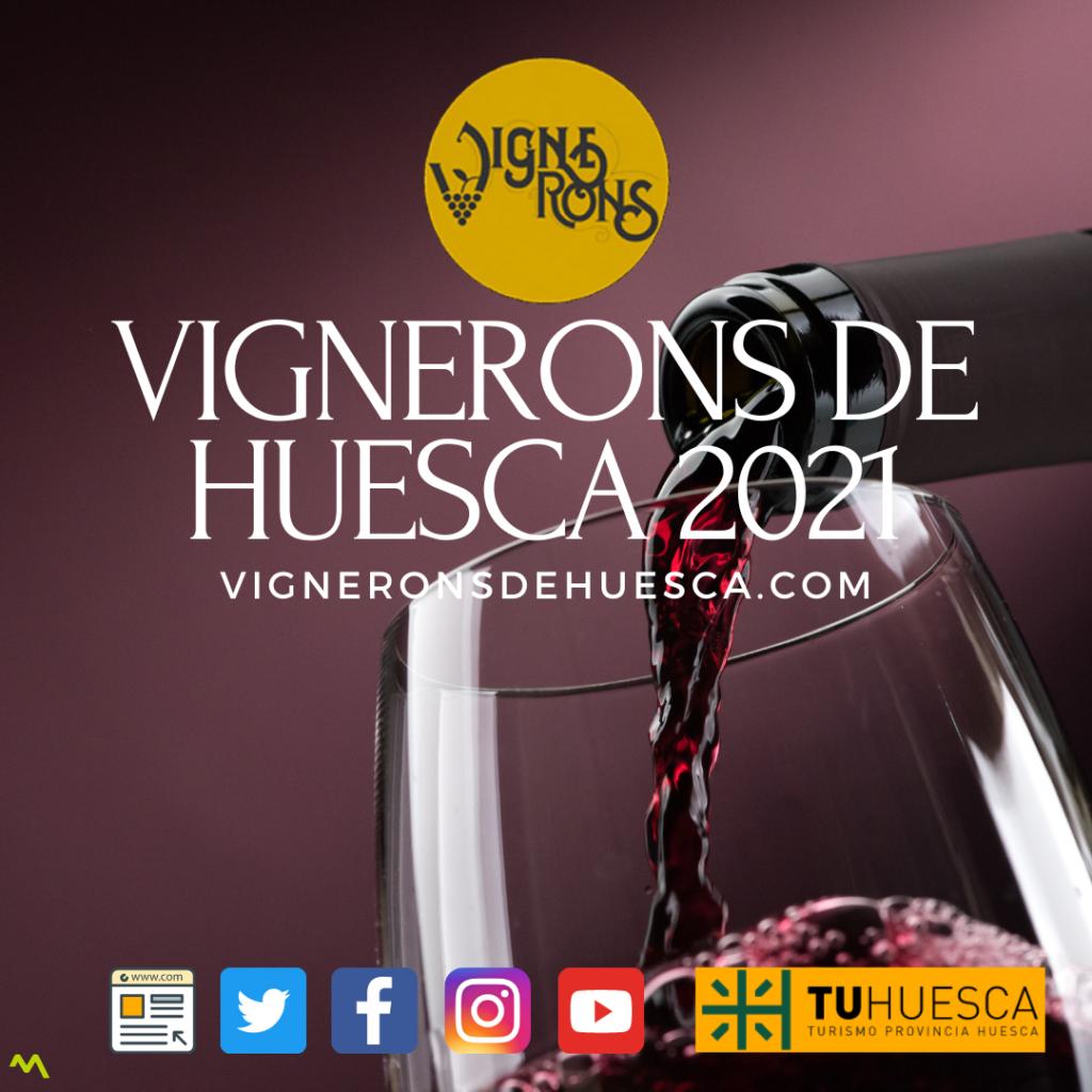 VIGNERONS DE HUESCA 2021 NOTA PRENSA 2021