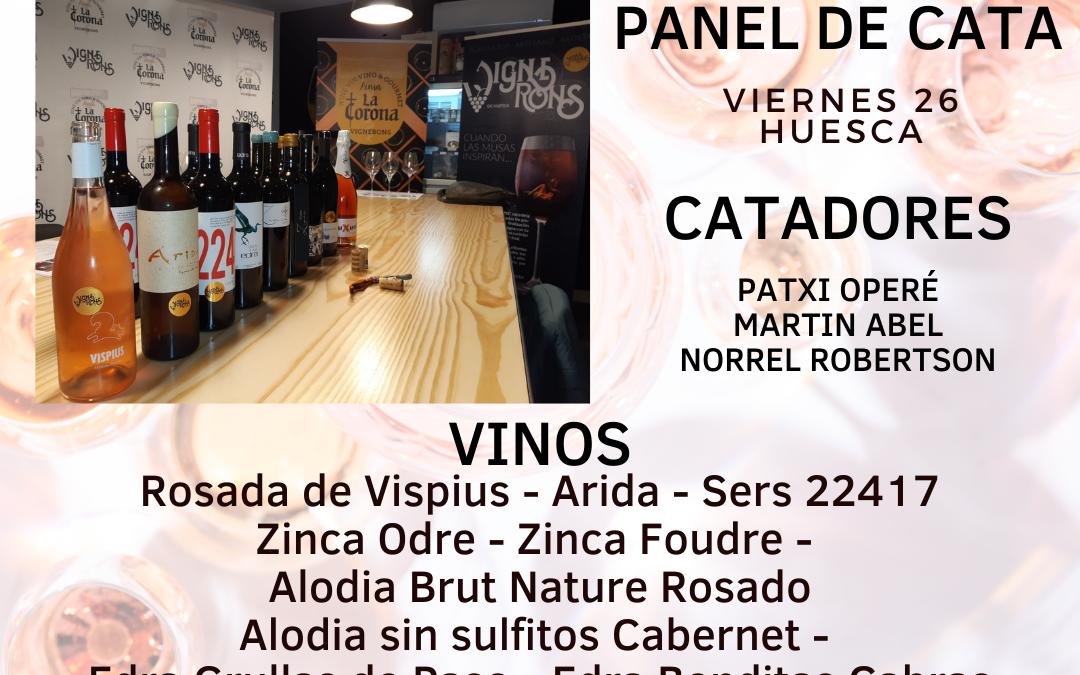 Vignerons de Huesca 2021 Panel de Cata I – Huesca Viernes 26 de Febrero