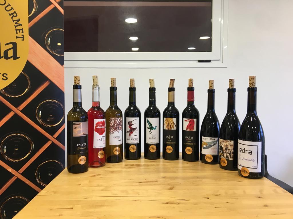Vignerons de Huesca 2021 - Panel de Cata en Bodegas Edra